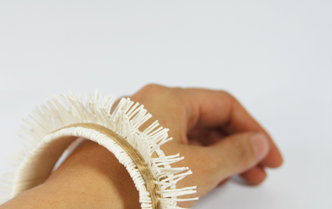 PaperPhine: Paper Twine Bangle / DIY / Paper Yarn