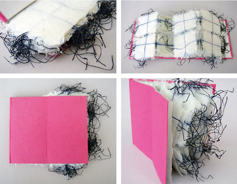 PaperPhine: A Handmade Book incorporating Shifu paper Yarn