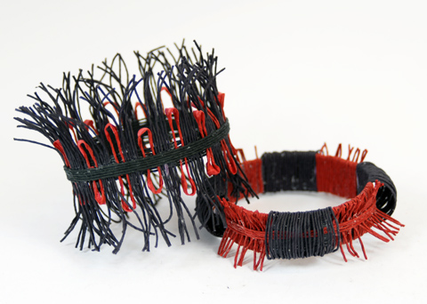 PaperPhine: Paper Twine Bangle / Paper Jewelry - Paper Yarn