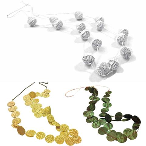PaperPhine: Nikoletta Andreadi Studio AN - Paper Jewelry
