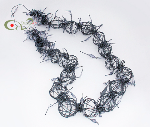PaperPhine: Paper Twine Jewelry / Paper Jewellery by Nikoletta Andreadi Studio AN