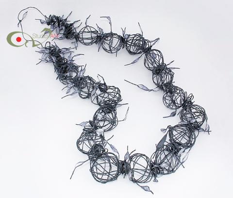 PaperPhine: Paper Twine Jewelry / Paper Jewellery by Nikoletta Andreadi Studio AN