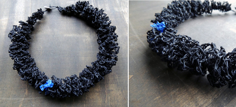 PaperPhine: zsazsazsu paper jewelry - crochet jewelry