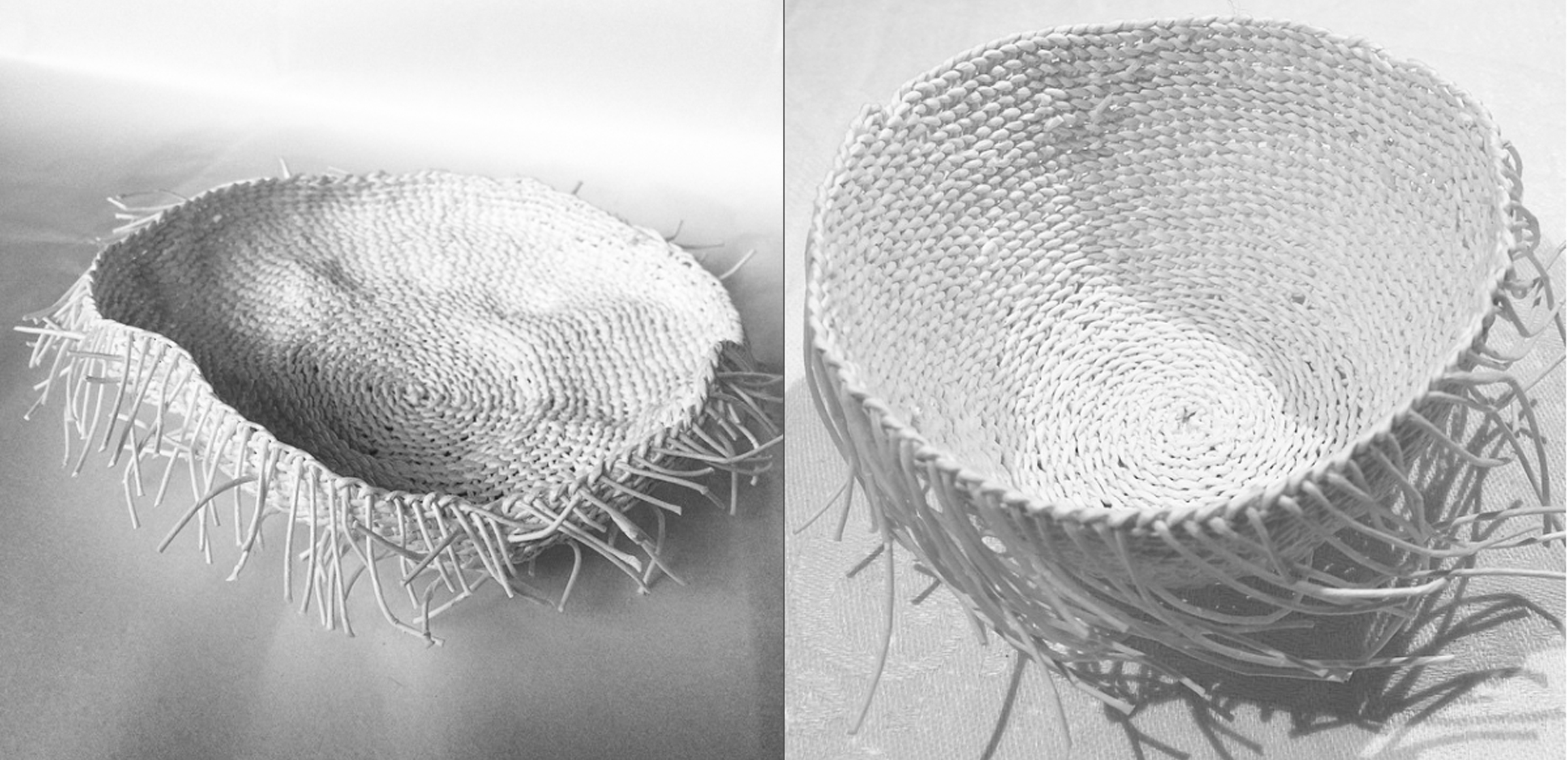 PaperPhine - Mrs. Wabi - Baskets - Papertwine - White