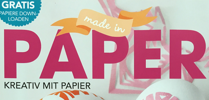 PaperPhine - Made in Paper - PaperPhine in Print - Kränze Blog