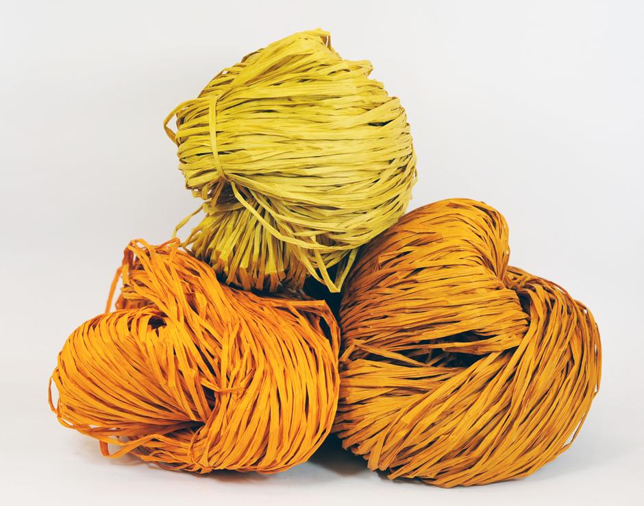 PaperPhine: Paper Raffia - Rustic Orange