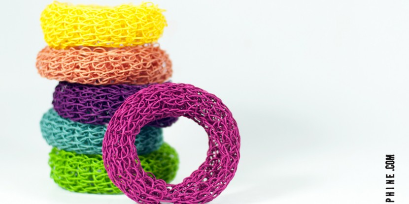 PaperPhine: Knit Bangle
