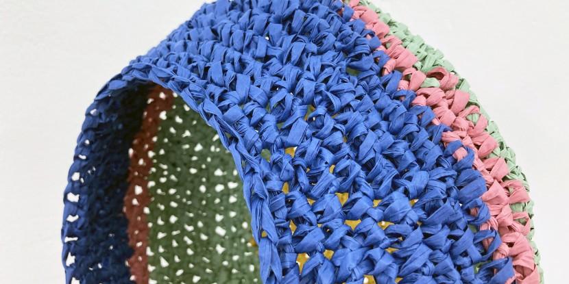 PaperPhine: Paper Raffia Crochet Basket - Tutorial